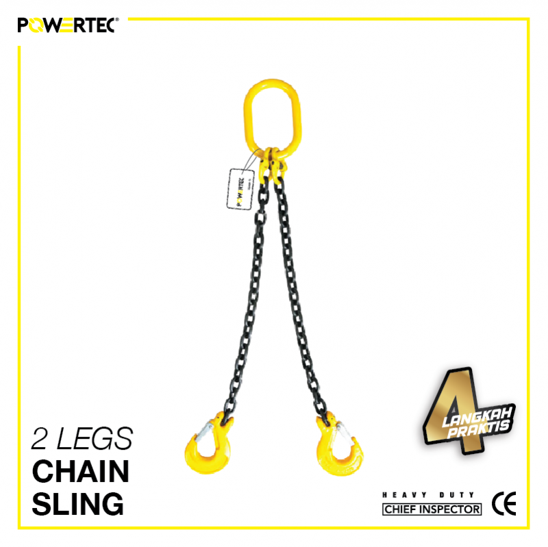Jual 2 Legs Chain Sling rantai sling 2 kaki