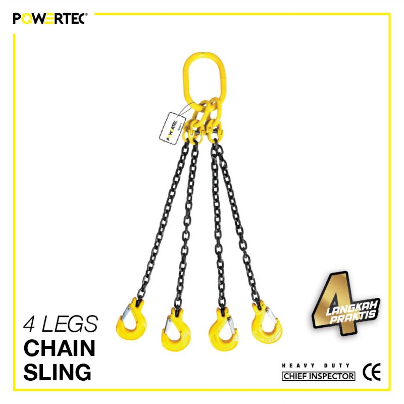 Jual 4 Legs Chain Sling rantai sling 4 kaki