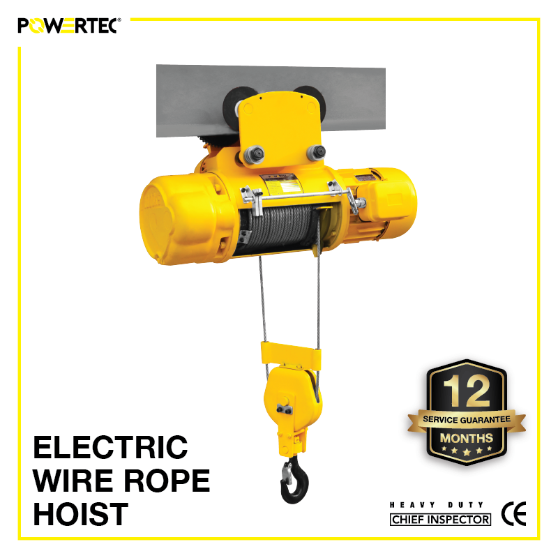 Jual Electric Wire Rope Hoist
