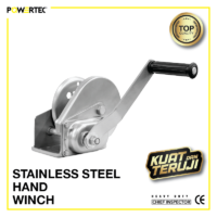 Jual Hand WInch Stainless Steel
