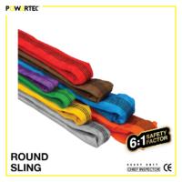 Jual Round sling webbing tubular