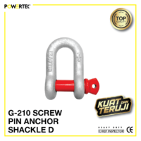 Jual Segel G-210 Screw Pin Anchor Shackle D