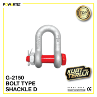 Jual Segel G-2150 Bolt Type Shackle D