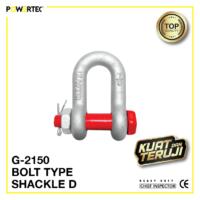 Jual Segel G-2150 Bolt Type Shackle D