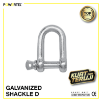 Jual Galvanized Shackle D Segel galvanis