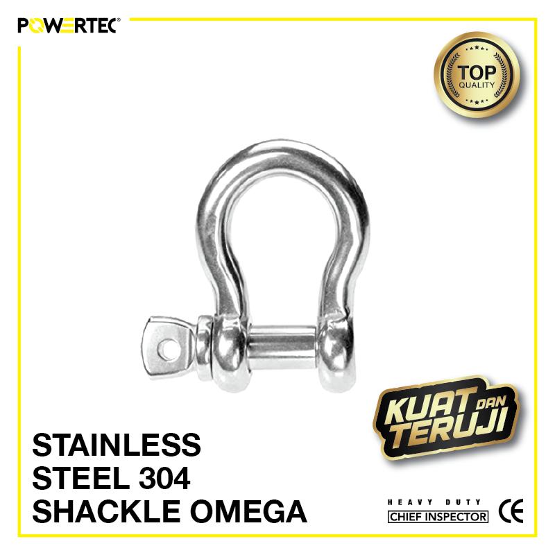 Jual Segel Stainless Steel 304 Shackle omega