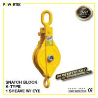 Jual Pulley Block Snatch Block K-Type Single Sheave Eye