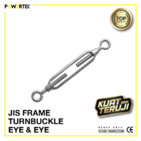 Jual Turnbuckle JIS Frame eye eye Jarum Keras Span Sekrup