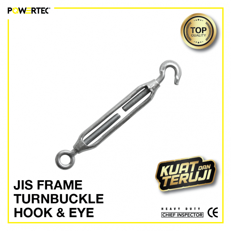 Jual Turnbuckle JIS Frame hook eye Jarum Keras Span Sekrup