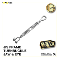 Jual Turnbuckle JIS Frame Eye Jaw Jarum Keras Span Sekrup