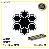 Jual Kawat Seling Wire Rope 6x12 7FC