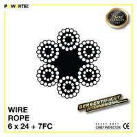 Jual Kawat Seling Wire Rope 6x24 7FC