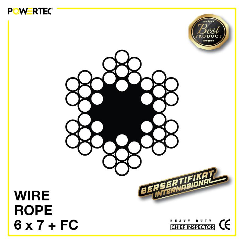 Jual Kawat Seling Wire Rope 6x7 FC