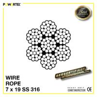 Jual Kawat Seling Wire Rope 7x19 Stainless Steel 316