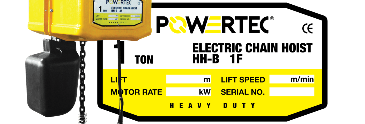 Jual Electric Chain Hoist Murah Terlengkap