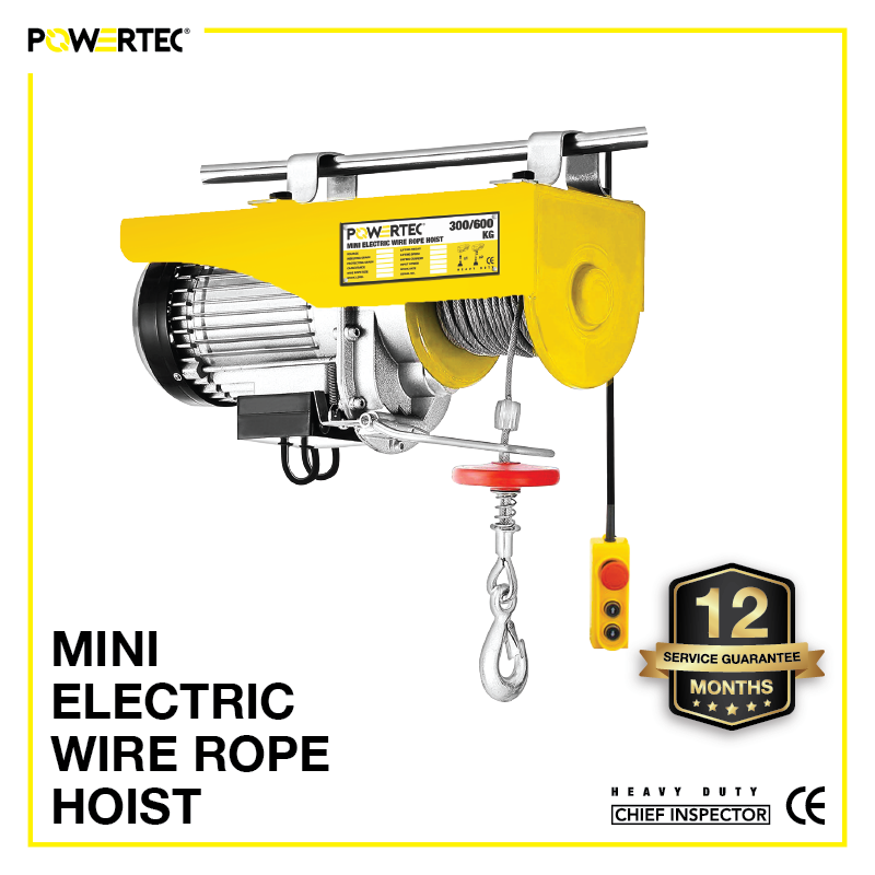 Jual Mini Electric Wire Rope Hoist