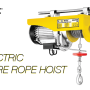 Jual Mini Electric Hoist Standar Indonesia